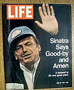Life Magazine - June 25, 1971 - Frank Sinatra (Image1)