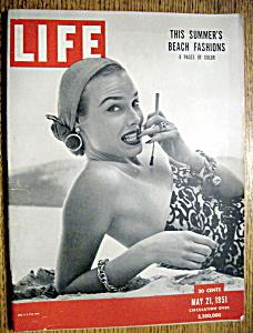 Life Magazine - May 21, 1951 - Beach Fashions (Image1)