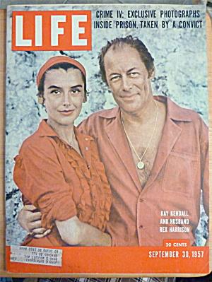 Life Magazine-September 30, 1957-Rex Harrison (Image1)