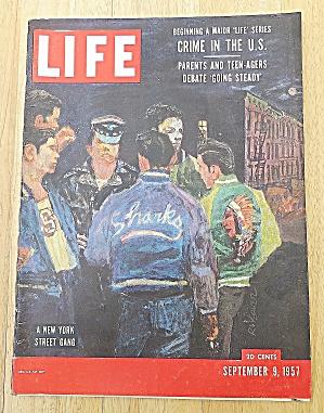 Life Magazine-September 9, 1957-New York St. Gang (Image1)