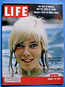 Life Magazine - August 12, 1957 - May Britt (Image1)