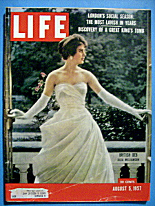 Life Magazine - August 5, 1957 - Julia Williamson
