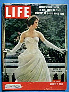 Life Magazine - August 5, 1957 - Julia Williamson (Image1)