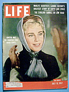 Life Magazine - July 15, 1957 - Maria Schell (Image1)