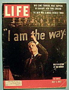 Life Magazine - July 1, 1957 - Billy Graham (Image1)