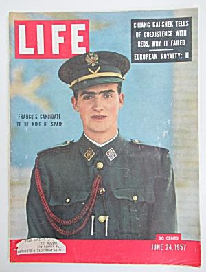 Life Magazine - June 24, 1957 - Franco's Candidate (Image1)