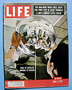 Life Magazine - June 3, 1957 - Satellite