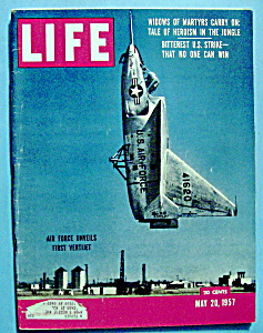 Life Magazine - May 20, 1957 - First Vertijet (Image1)