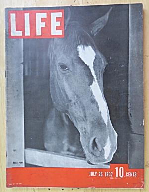 Life Magazine July 26, 1937 Polo Pony (Image1)