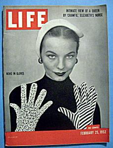 Life Magazine - February 25, 1952 - News In Gloves (Image1)