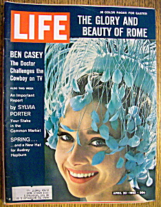 Life Magazine-april 20, 1962-ben Casey