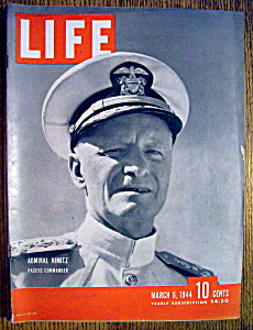 Life Magazine-March 6, 1944-Admiral Nimitz (Image1)