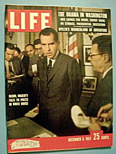 Life Magazine - December 9, 1957 - Nixon & Hagerty (Image1)