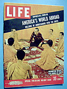 Life Magazine - December 23, 1957 - Monks In Laos (Image1)