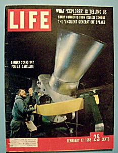 Life Magazine - February 17, 1958 - U.S. Satellite (Image1)