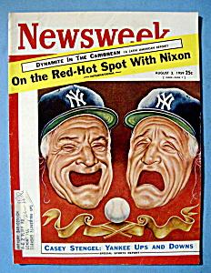Newsweek Magazine - August 3, 1959 - Nixon (Image1)