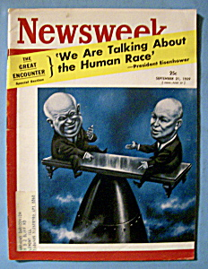 Newsweek Magazine - September 21, 1959 - Eisenhower (Image1)