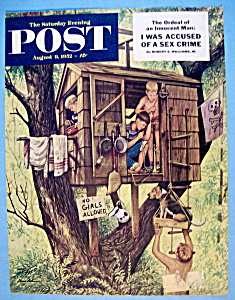 Sat Eve Post Cover (Only) - August 9, 1952 - Dohanos