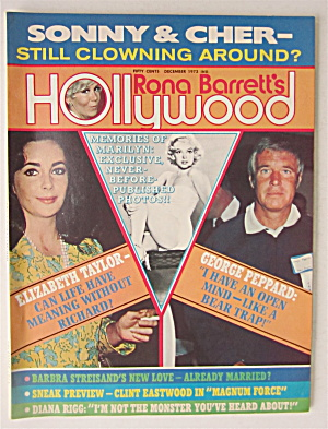 Rona Barrett's Hollywood Magazine December 1973