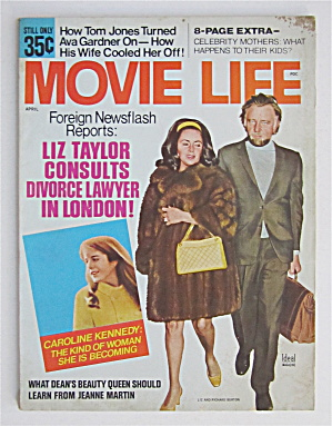 Movie Life Magazine April 1970 Liz Taylor