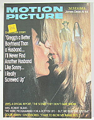 Motion Picture Magazine October 1975 Cher/gregg Allman
