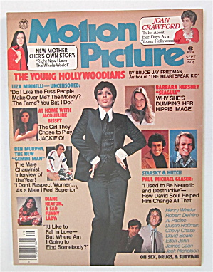 Motion Picture Magazine September 1976 Liza Minnelli