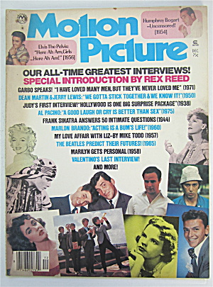 Motion Picture Magazine December 1976 Great Interviews