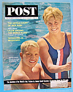 Saturday Evening Post Magazine July 25- August 1, 1964