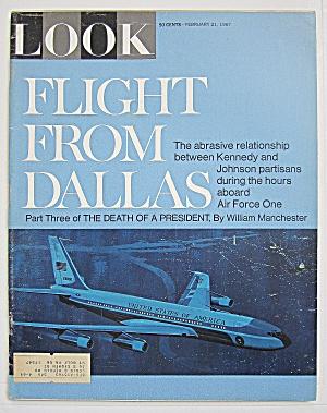 Look Magazine-February 21, 1967-Flight From Dallas (Image1)