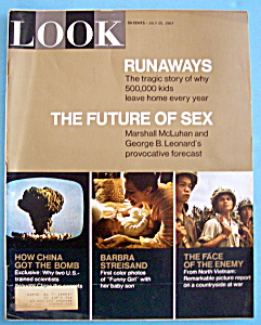 Look Magazine July 25, 1967 The Future Of Sex