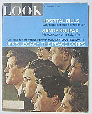 Look Magazine June 14, 1966 JFK's Legacy (Image1)