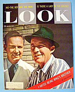 Look Magazine - July 22, 1958 - Bing & Bob Crosby