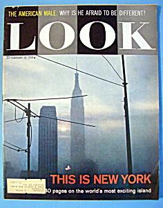 Look Magazine - February 18, 1958 - New York (Image1)