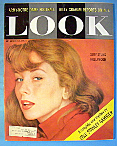 Look Magazine - October 15, 1957 - Suzy Parker