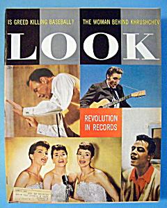 Look Magazine - April 15, 1958 - Revolution In Records (Image1)