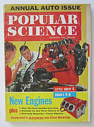 Popular Science Magazine October 1961 New Engines