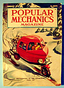 Popular Mechanics Magazine-february 1948-windjammers