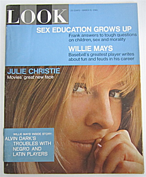 Look Magazine March 8, 1966 Julie Christie