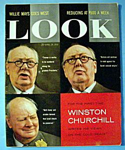 Look Magazine - April 29, 1958 - Winston Churchill (Image1)