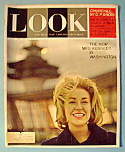 Look Magazine - February 26, 1963 - New Mrs. Kennedy (Image1)