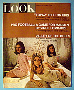 Look Magazine September 5, 1967 Valley Of The Dolls