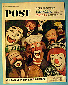 Saturday Evening Post Magazine-april 10, 1965-f. D. R.