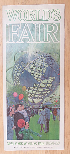 New York World's Fair Brochure 1964-65 World's Fair