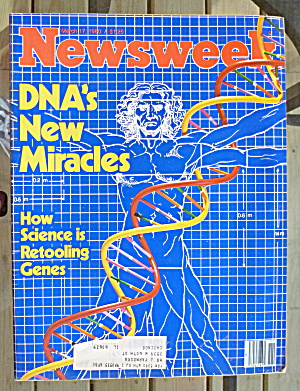 Newsweek Magazine-march 17, 1980-dna Miracles