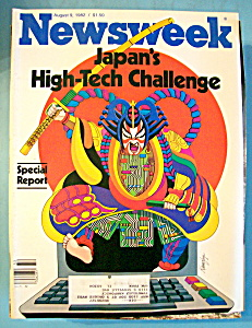 Newsweek Magazine - August 9, 1982 - Japan's High Tech