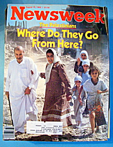 Newsweek Magazine - August 16, 1982 - The Palestinians