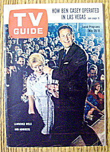 Tv Guide-may 25-31, 1963-lawrence Welk