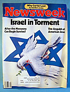 Newsweek Magazine - October 4, 1982 - Israel In Torment