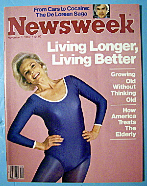 Newsweek Magazine-november 1, 1982-living Longer