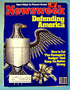 Newsweek Magazine -december 20, 1982- Defending America